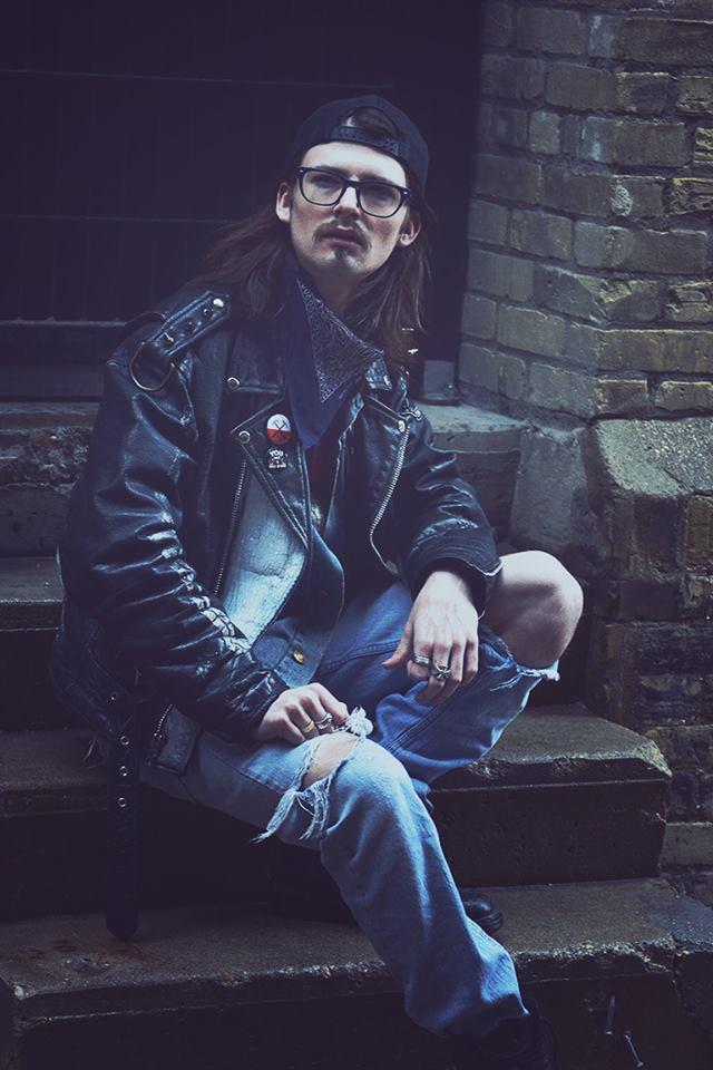 Male model photo shoot of wolfeman95 in Winnipeg Exchange District