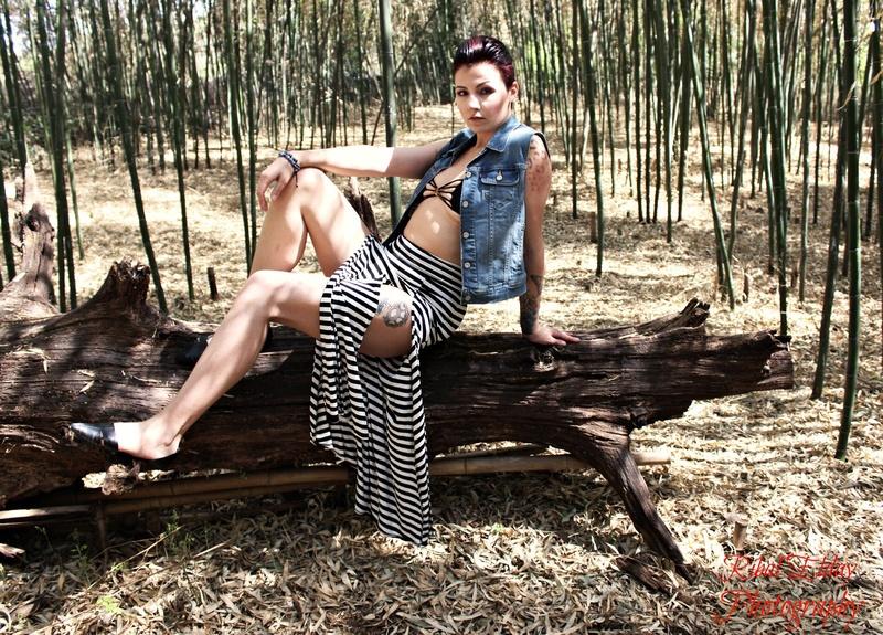 Female model photo shoot of Mash C