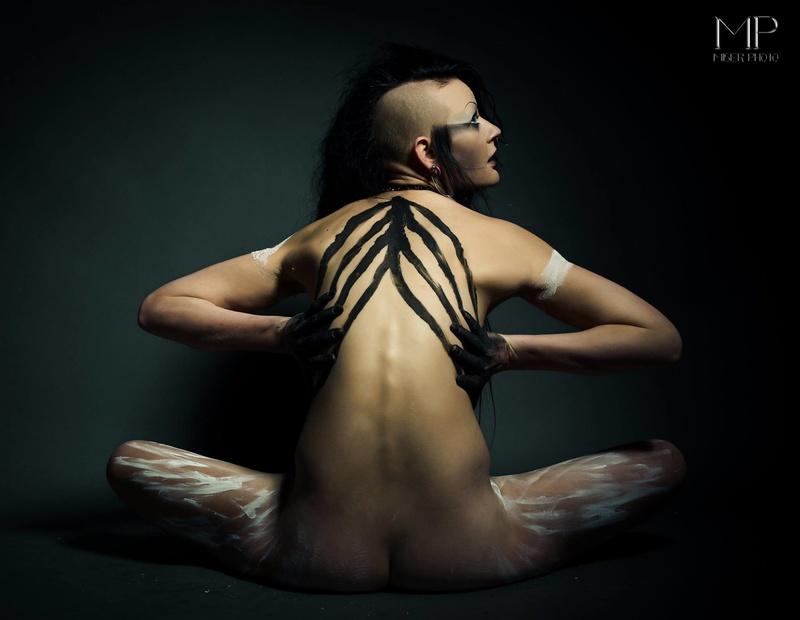 Female model photo shoot of JessicaRenae  in Miser Studio