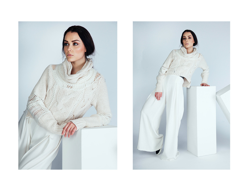 Female model photo shoot of Kfraszczyk, wardrobe styled by Natasha Kutrovacz, makeup by Josephine Kong