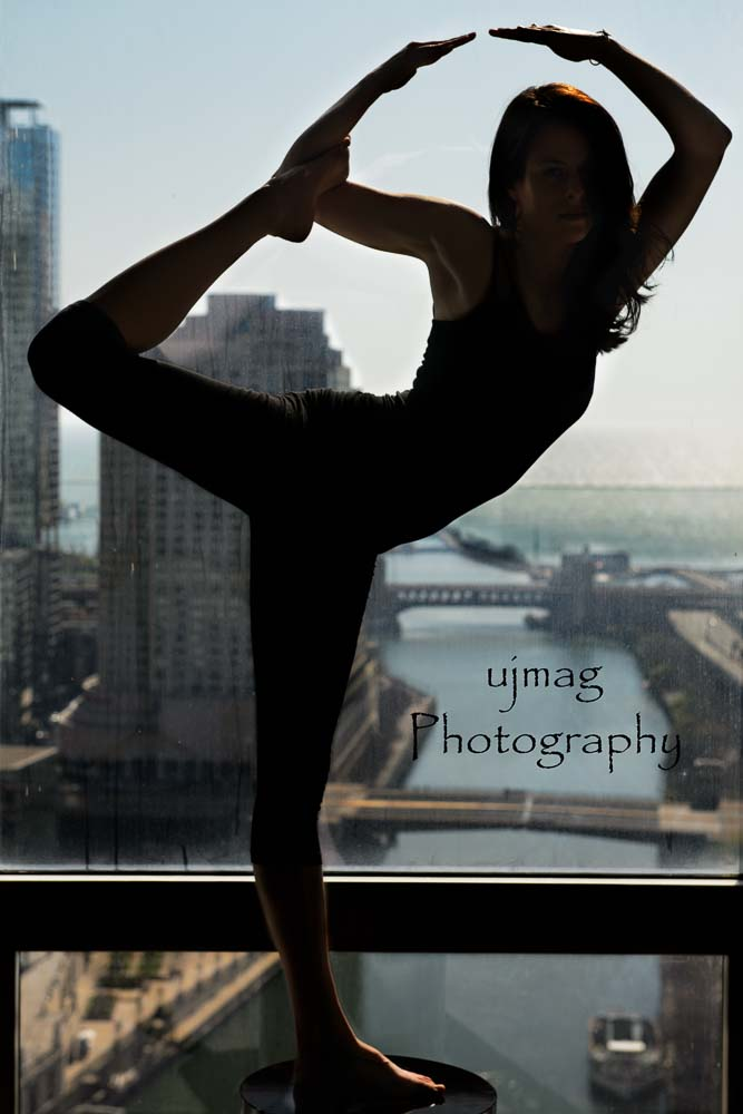 Female model photo shoot of Just-Dance by ujmag PHOTOGRAPHY in Trump Tower Chicago