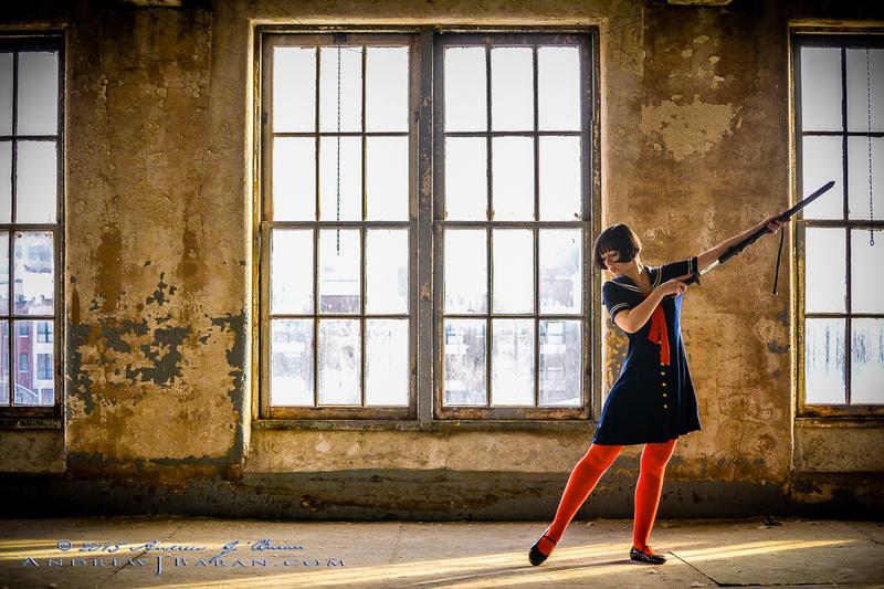 Female model photo shoot of the Madhat Kat