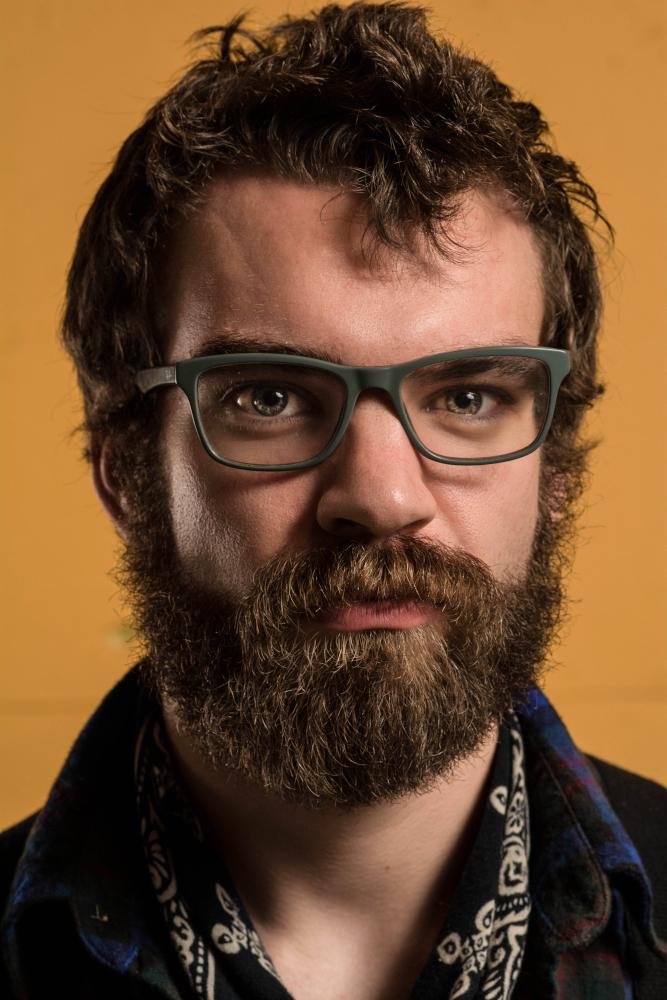 Male model photo shoot of Corwin Deckard Photo