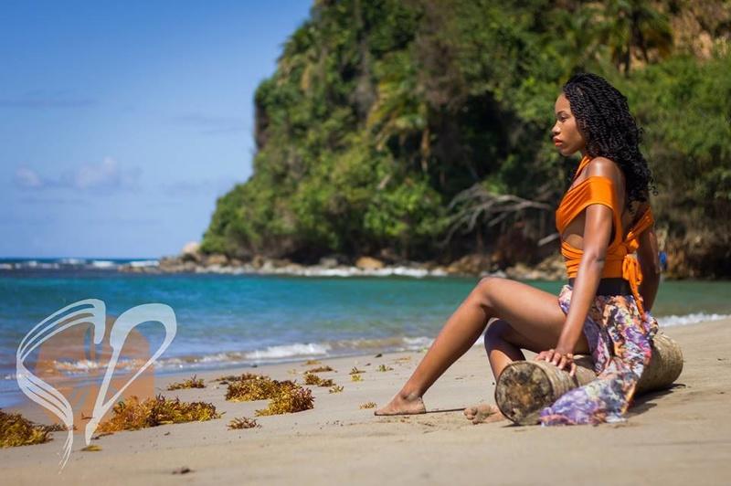 Female model photo shoot of Saryta Akpa in Hampstead, Dominica