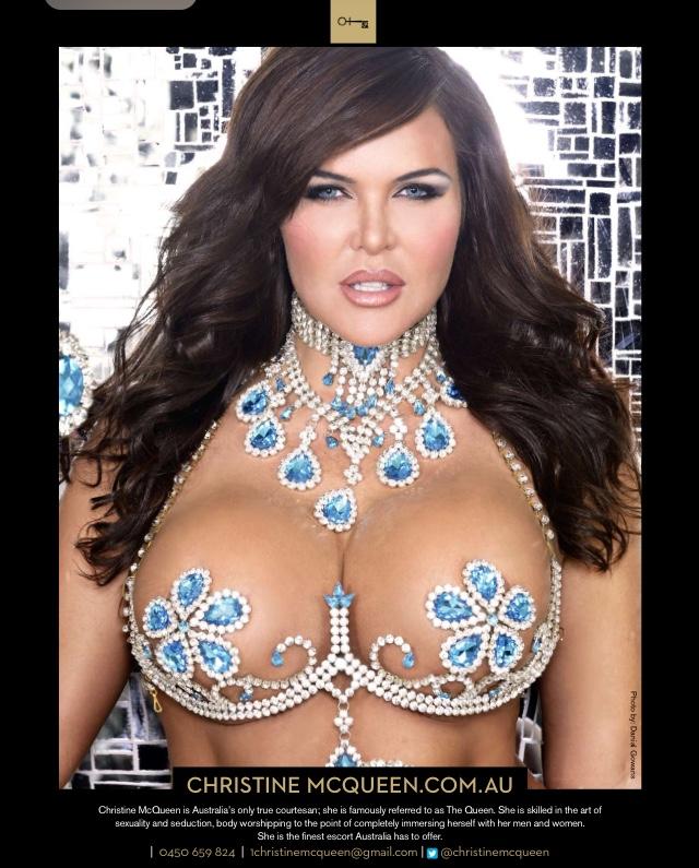 Christine Mc-queen  - Penthouse Ad modelmayhem @624691