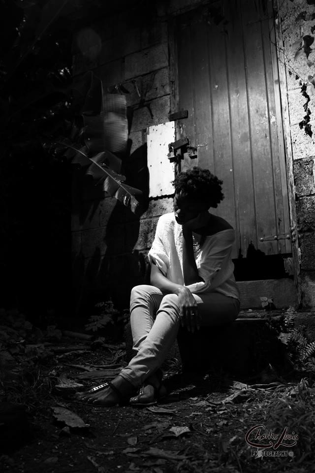 Female model photo shoot of Saryta Akpa in Botanical Gardens, Dominica