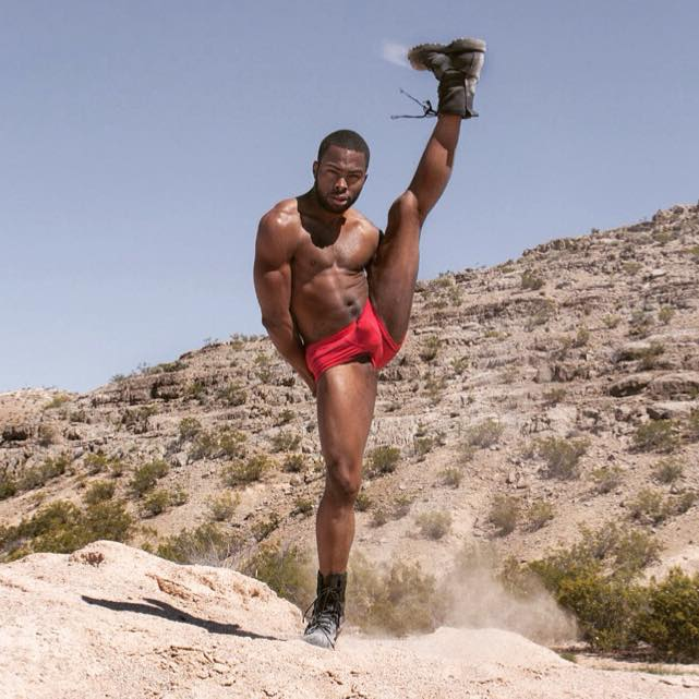 Male model photo shoot of Dionni James in Mountains Edge (Las Vegas,NV)