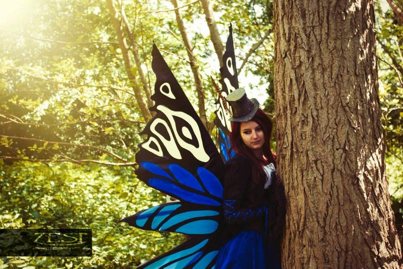 Female model photo shoot of Eccentric Elegance in Cliffe woods