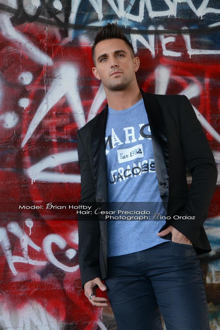 Male model photo shoot of Nino Ordaz