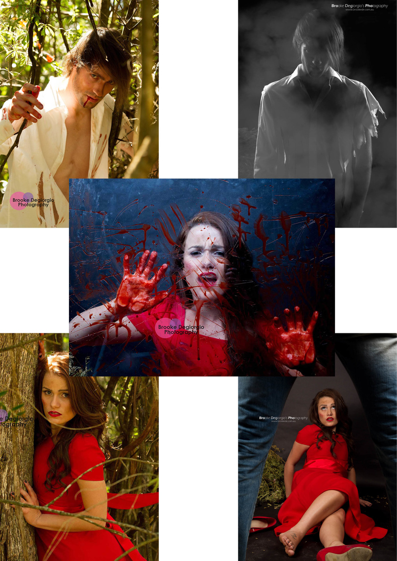 Female model photo shoot of Brooke Degiorgio in studio/location