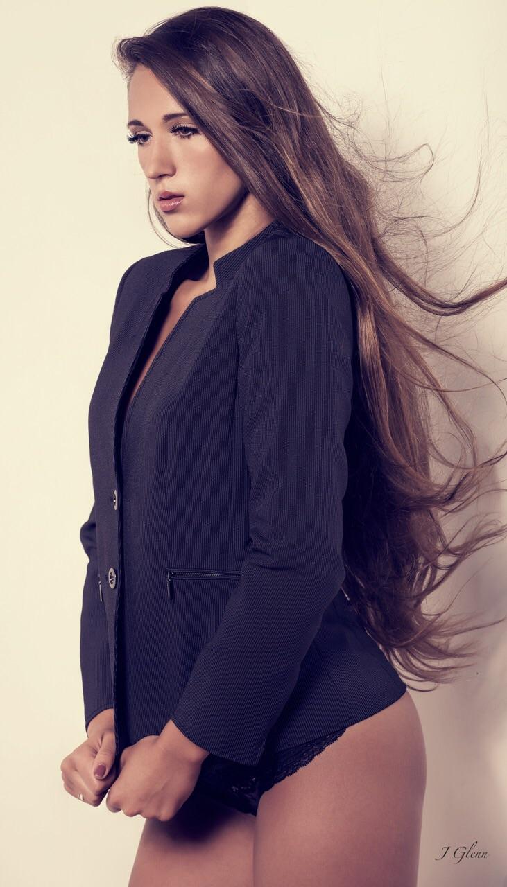 Female model photo shoot of CheyenneT by JG Photography - US