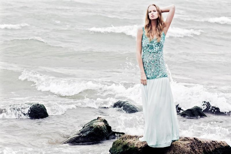 0 model photo shoot of Agence Select