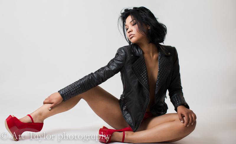 Female model photo shoot of Oceannea