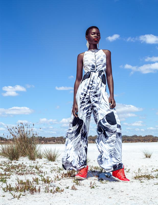Female model photo shoot of Leah Manzari by TOM WAWNIK