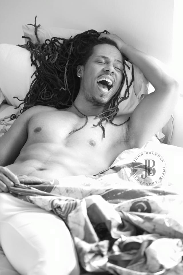 Male model photo shoot of Chuck C Harris by John Balzola Photograph in Miami, Florida