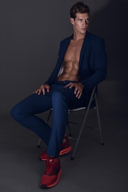 Male model photo shoot of Kade NYC