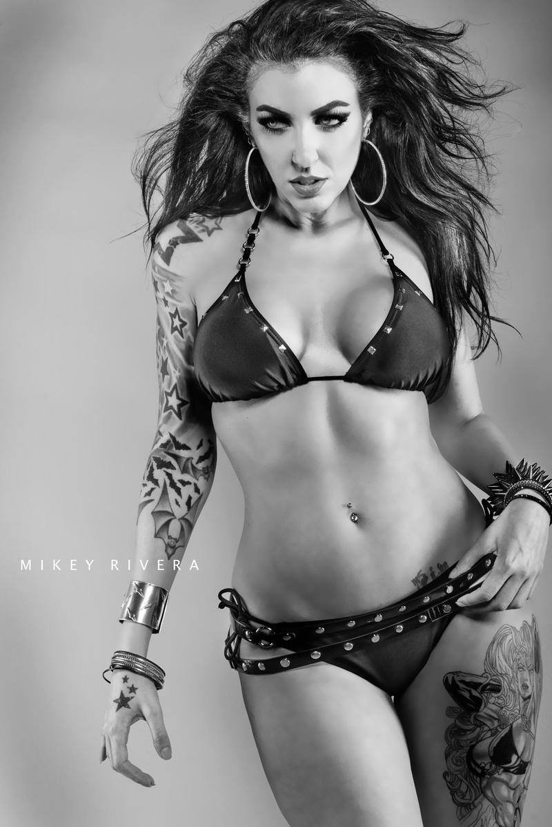 Female model photo shoot of Farrah DeMorte in Bulletproof Studios