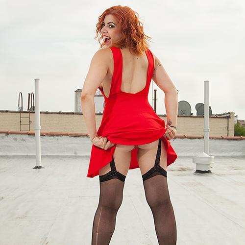 Female model photo shoot of Sin Dee
