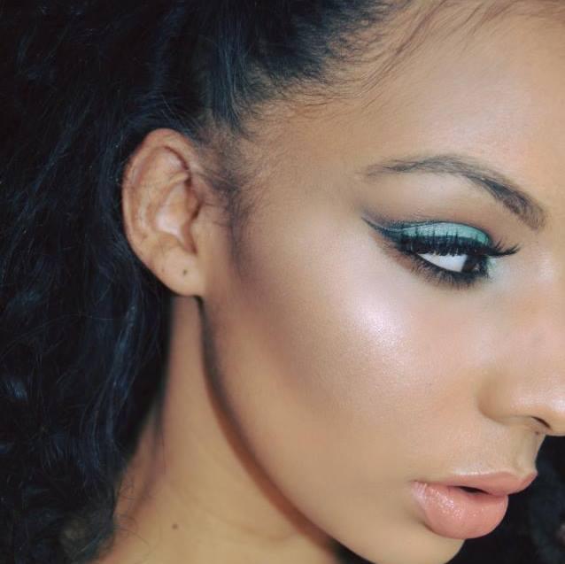Female model photo shoot of MakeupbySJ
