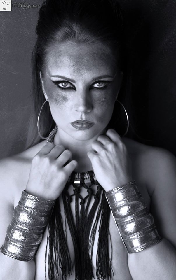 Female model photo shoot of M Rock Style and HeatherCall in Los Angeles, California