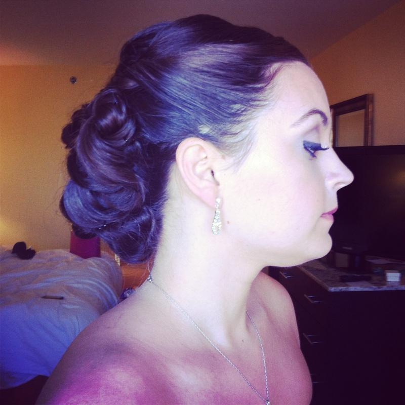Female model photo shoot of Keara Makeup and Hair in Orlando, FL
