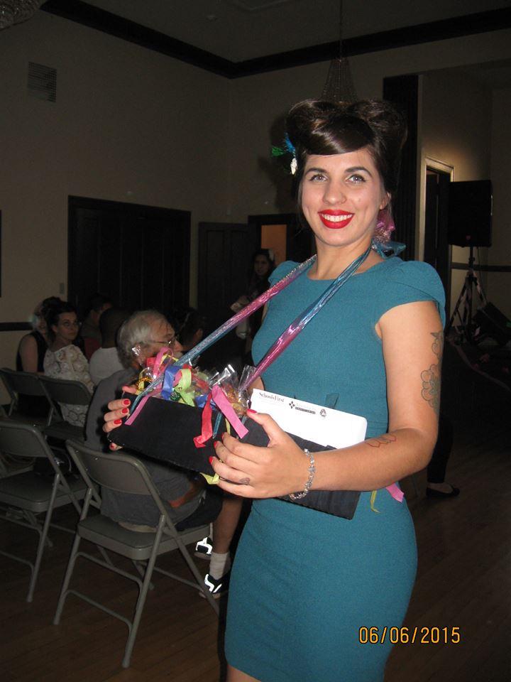 Female model photo shoot of Mina Blue in Cedar Art Center, Lancaster, CA