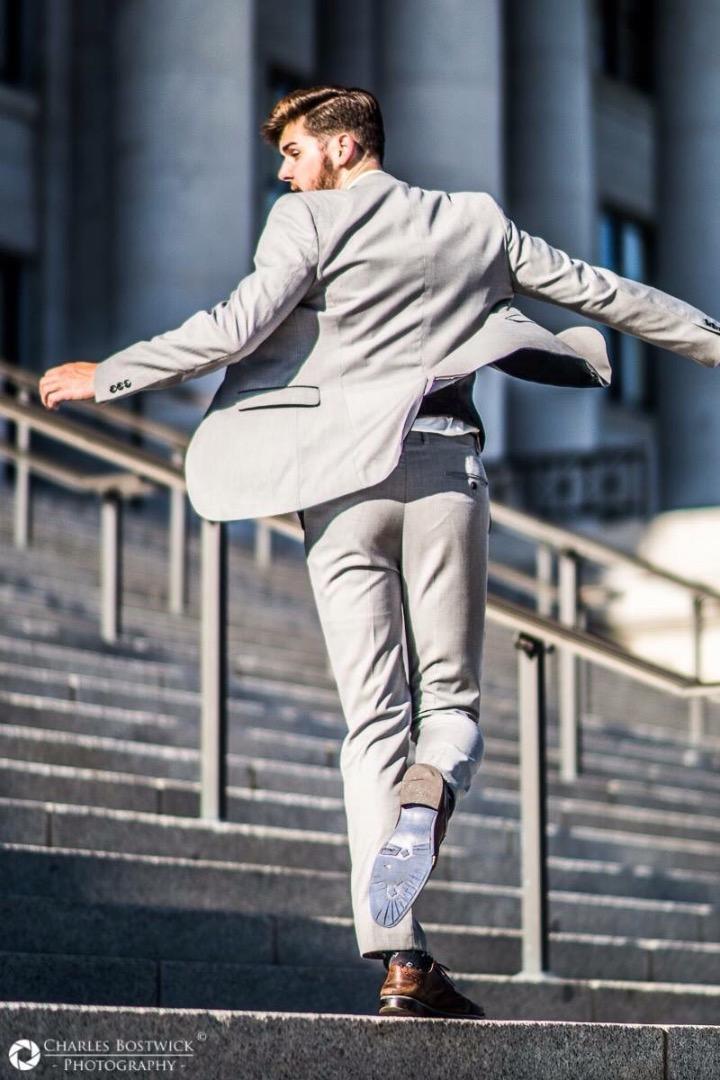 Male model photo shoot of Charles Bostwick