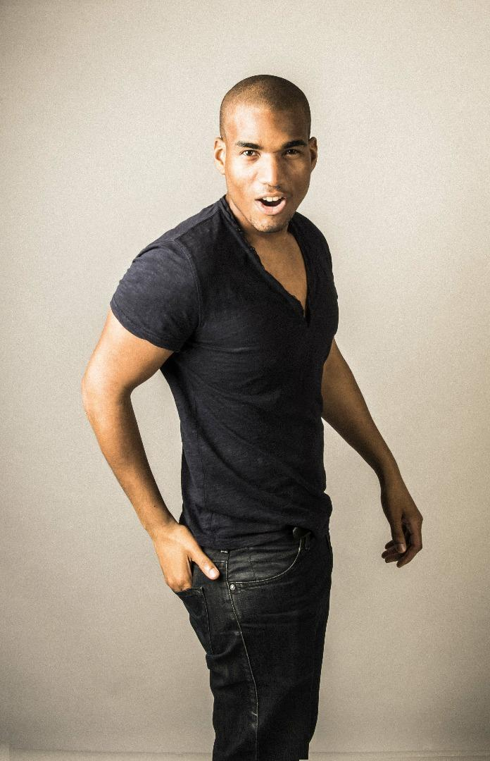 Male model photo shoot of Giovanni John B