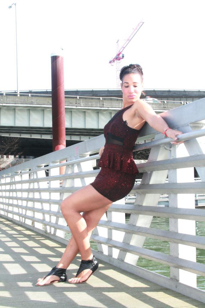 Female model photo shoot of LorraineMonroe by Zachary Krapf
