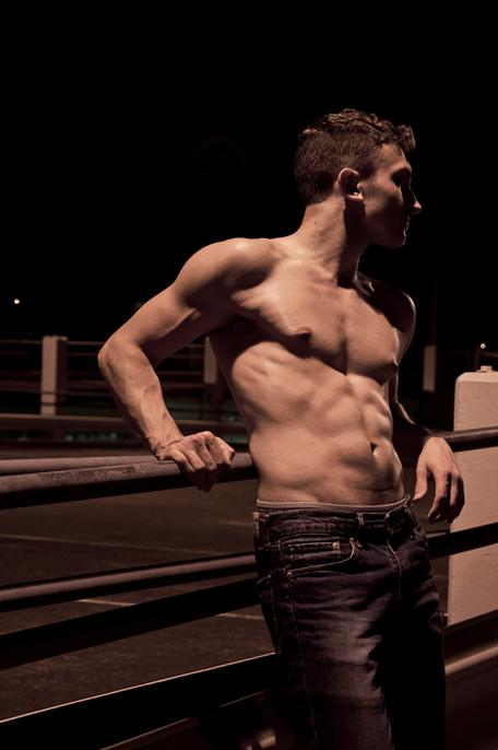 Male model photo shoot of Wynter Nights