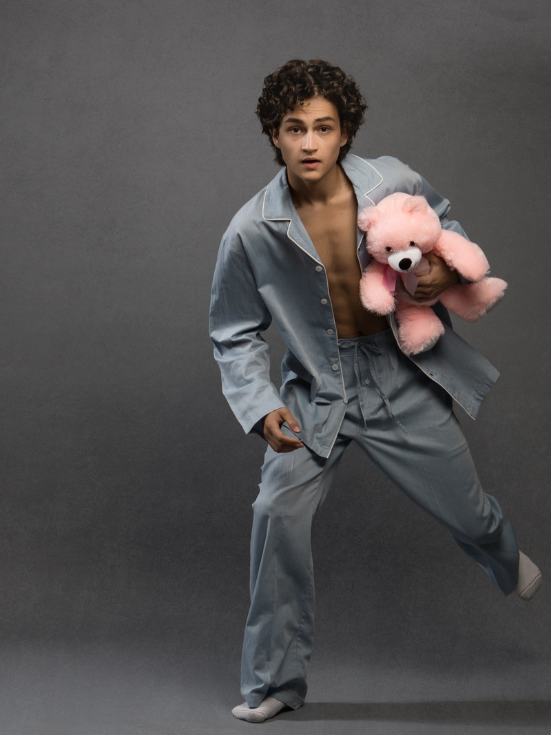 Male model photo shoot of Dylan Suarez, hair styled by Julia Savitskaya, wardrobe styled by K8 McKay
