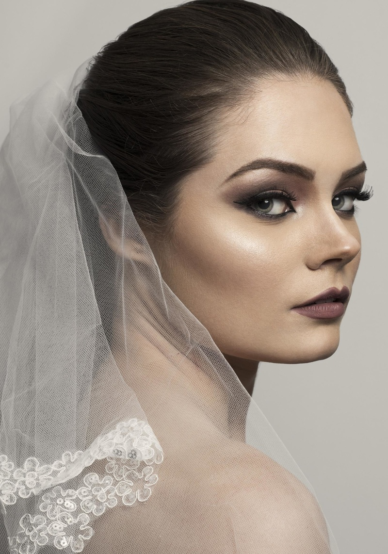 Female model photo shoot of Joanna Las, makeup by MK6264