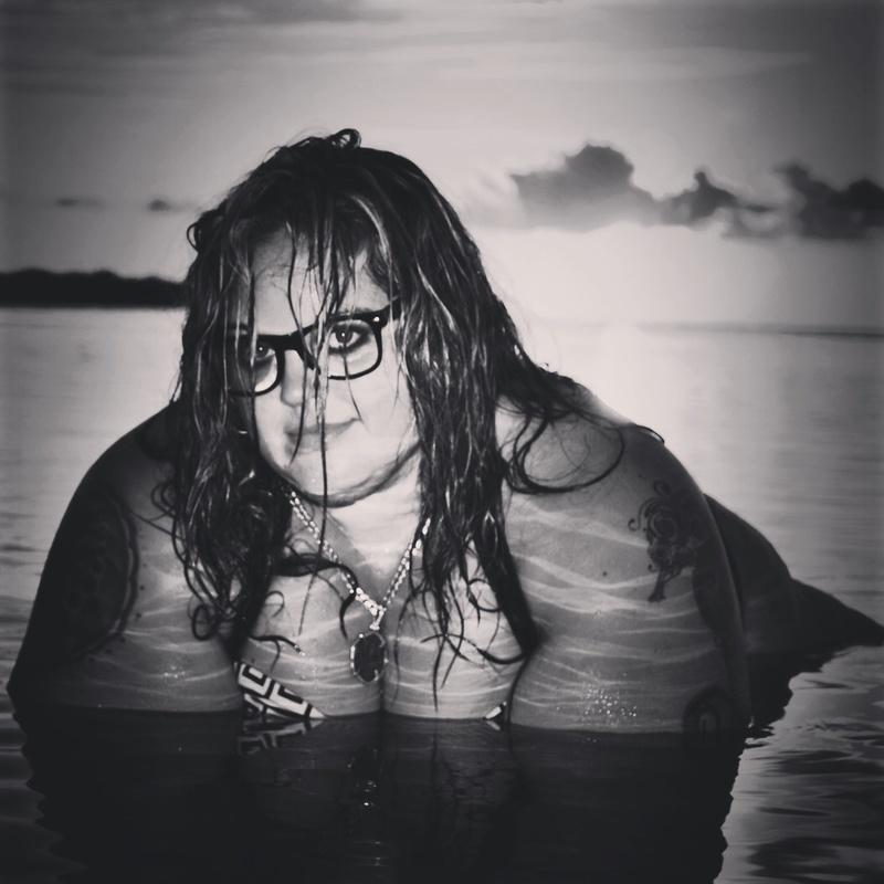 Female model photo shoot of CrystalBITNS