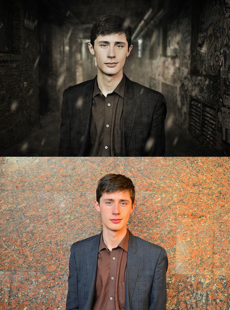 Male model photo shoot of Michael Lubimov