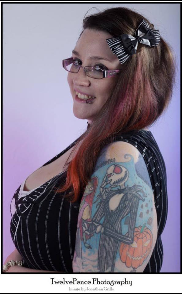 Female model photo shoot of Necro Nightmare