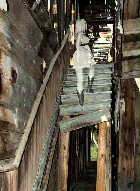 Male model photo shoot of DPowellPhotography in Comet Ghost Town, Montana