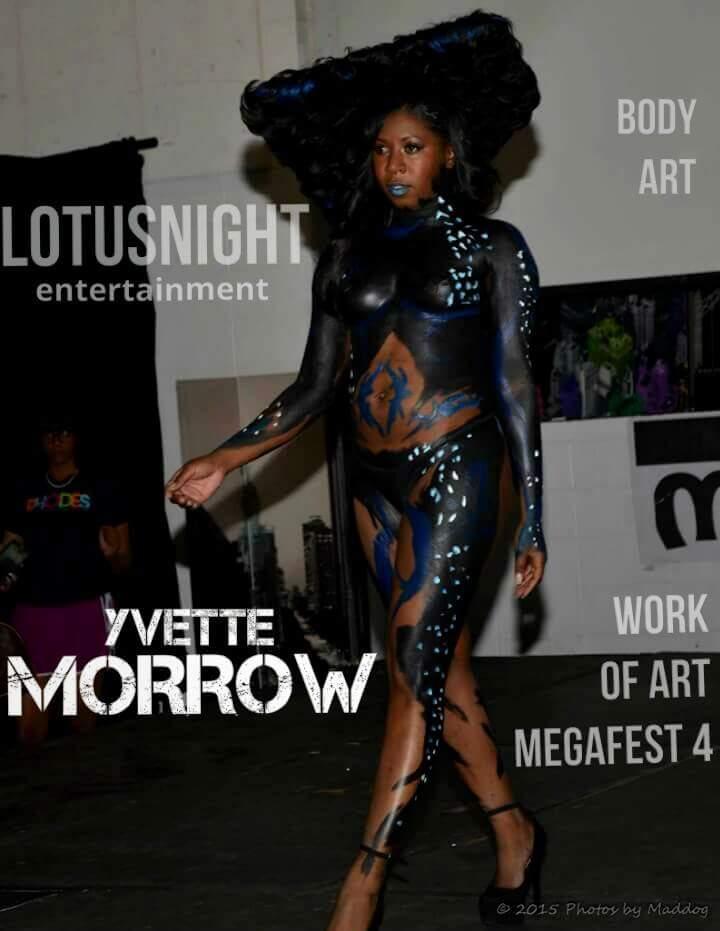 Female model photo shoot of Yvette Morrow  in Work Of Art Mega Fest