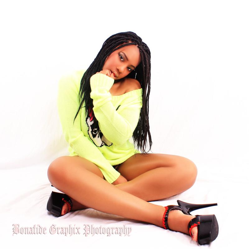 Male and Female model photo shoot of BONAFIDE GRAPHIX LLC and Miss Keys
