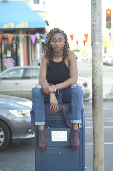 Female model photo shoot of Chalsea in Philadelphia