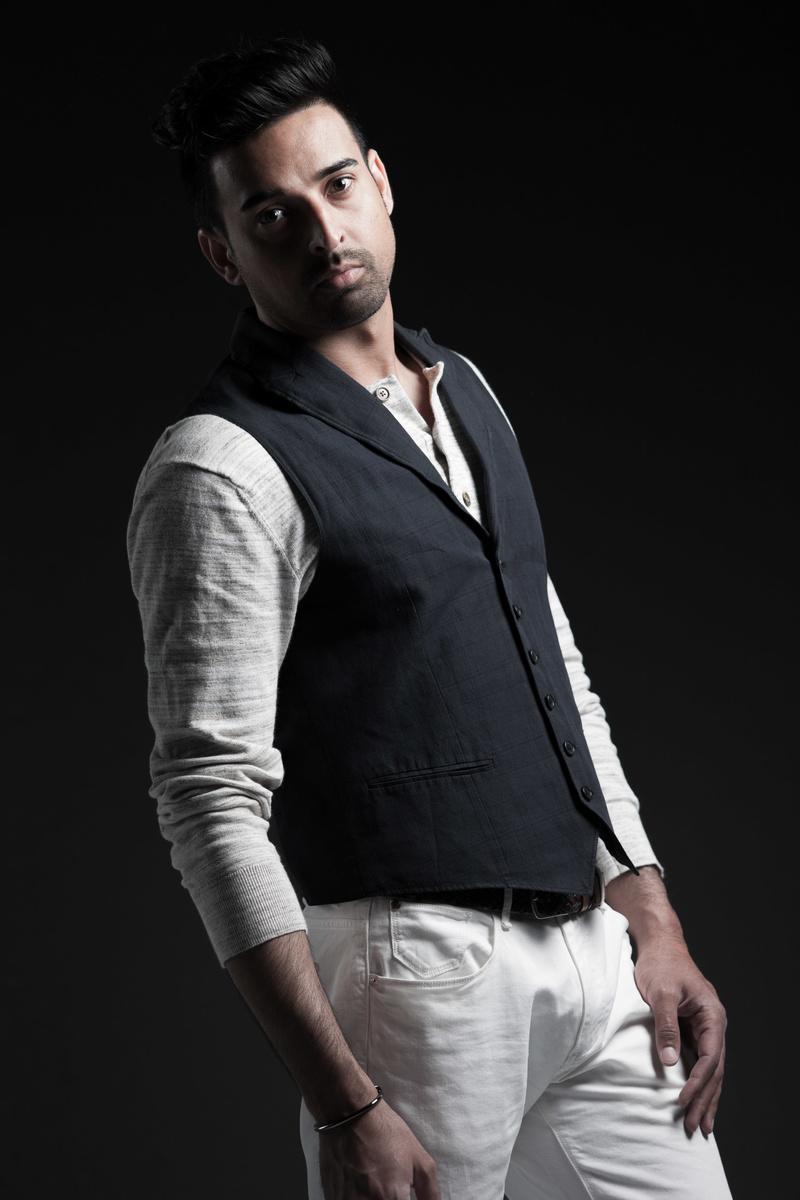 Male model photo shoot of Ranveer