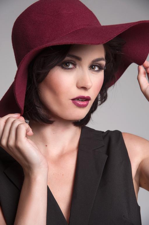 Female model photo shoot of Toni Harrison in Studio