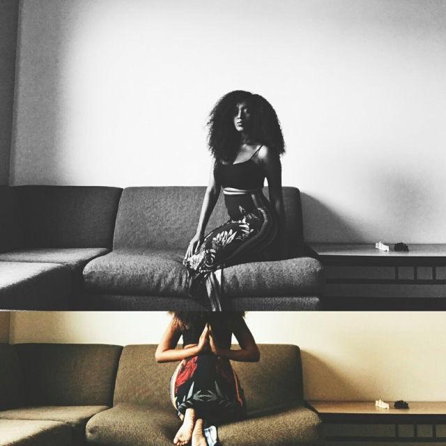 Female model photo shoot of Milan Lee