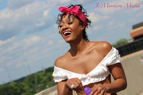 Female model photo shoot of Modelfeline in North Carolina, USA