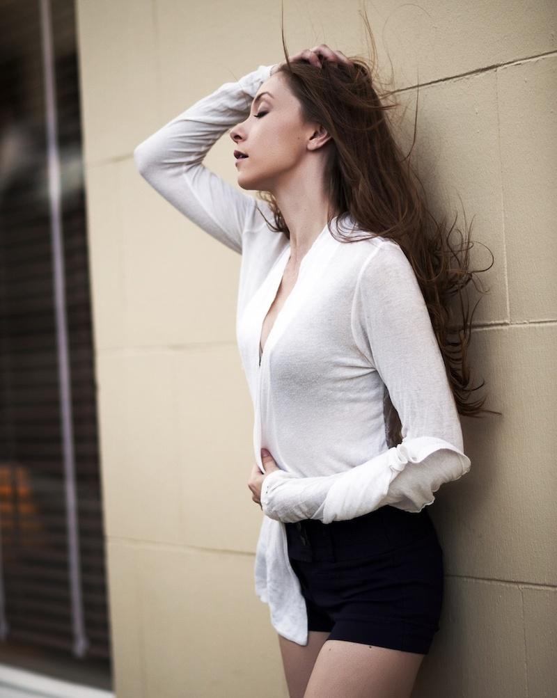 Female model photo shoot of Nadia Pfeiffer  in Oregon