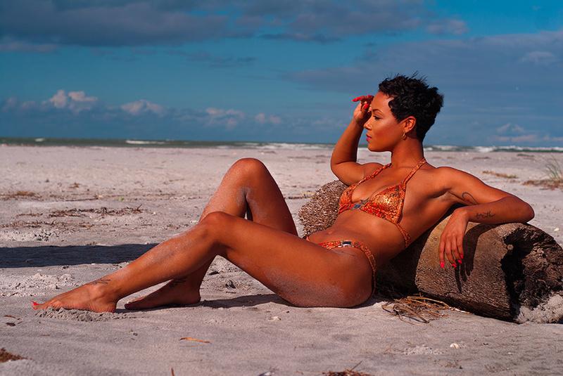 Male and Female model photo shoot of jcrainey and Deniese Marx in Palm Island Resort, Cape Haze, FL