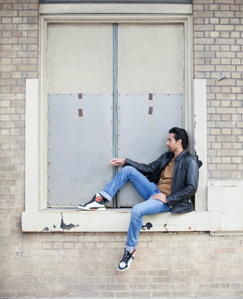 Male model photo shoot of Ranveer by Adrian Stanwell