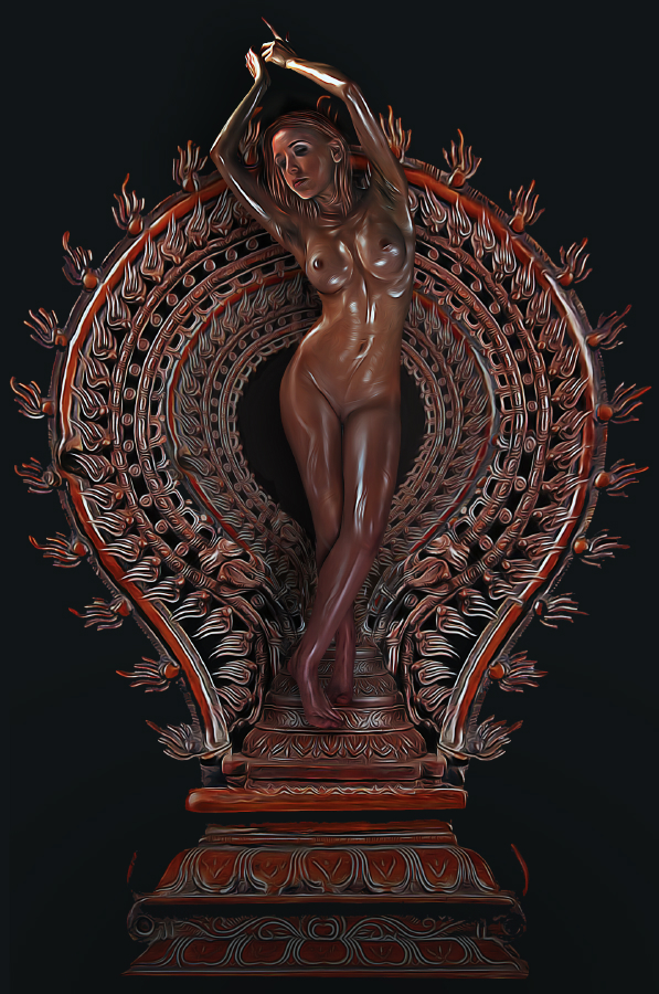 Nov 04, 2015 Wordmarque Nude Dakini in Bronze