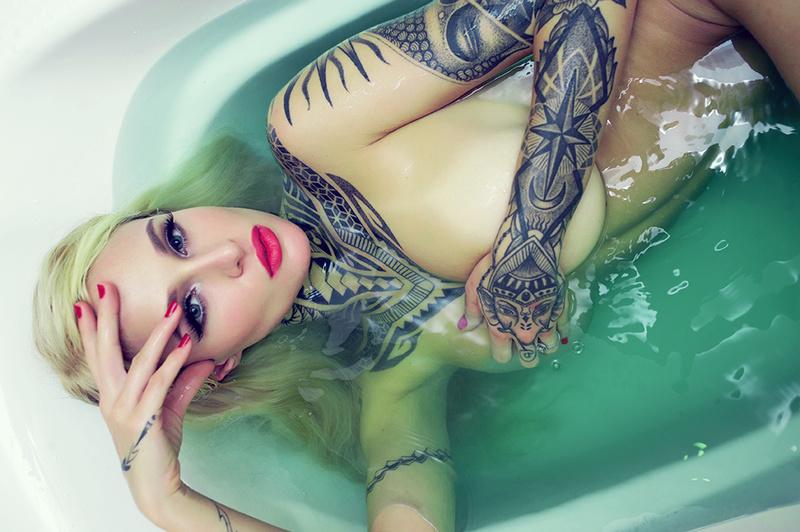 TESSA LIZZ, Model, Huntington Beach, California, US