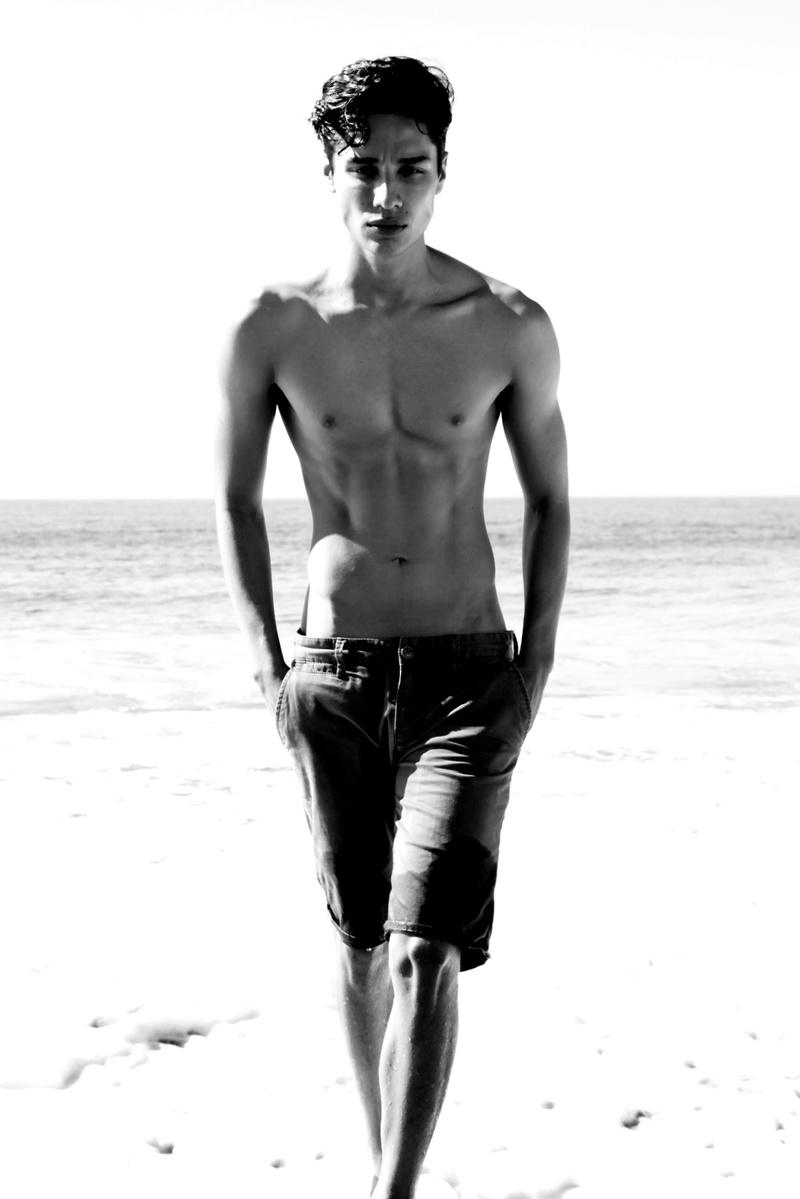 Female model photo shoot of Aza Larsen Photography in Malibu Beach