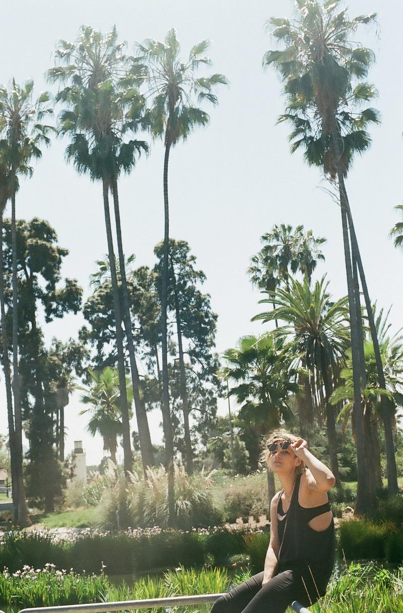 Female model photo shoot of Rebecca Peloquin in Echo Park